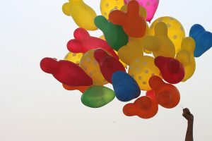 balony z logo